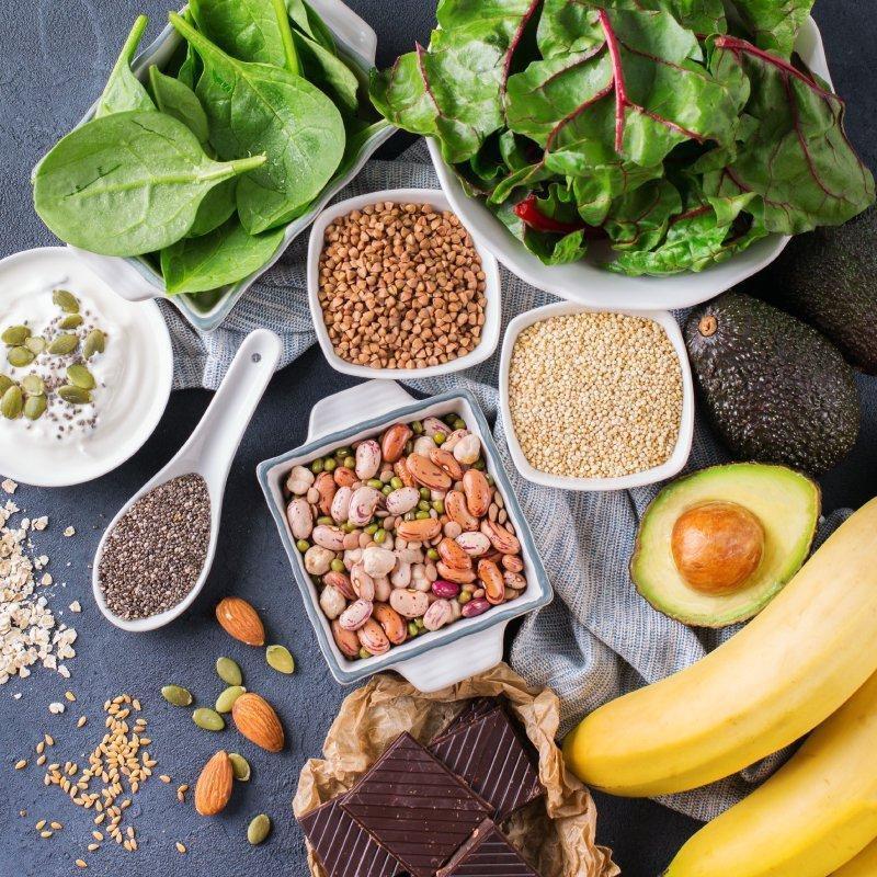 хром в продуктах питания