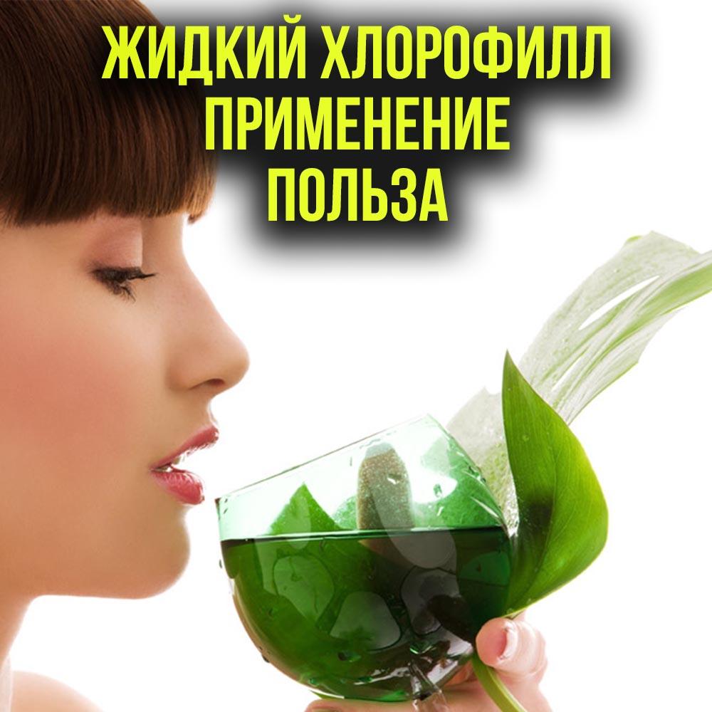 Зеленый пигмент хлорофилл